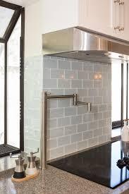 e small l shape kitchen decoration using white subway ceramic