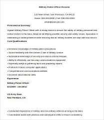 Police Officer Resume Example by Examples Of Police Resumes Resume Templates