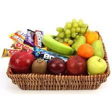 fruit basket gifts send gift philippines crunchy bar fruit basket chocolate