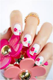 neon polka dot french nail art tutorial