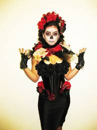 Sugar Skull Halloween Costumes 32 La Muerte Halloween Costumes Images