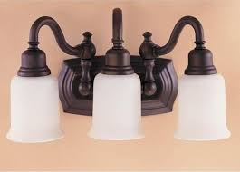 Venetian Bronze Bathroom Light Fixtures Rubbed Bronze Bathroom Lighting Bathroom Cintascorner