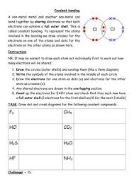 the 25 best ionic and covalent bonds ideas on pinterest
