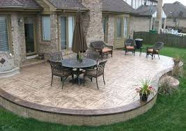 Cement Patio Designs Cement Patio Ideas Sted Concrete Design Ideas Best Of Simple