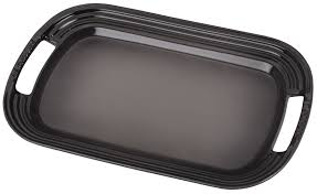 Be Our Guest Le Creuset by Le Creuset Oyster Grey Serving Platter Everything Kitchens