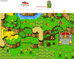 Final Fantasy 1 World Map by The Video Game Atlas Gba Maps