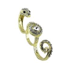 new arrivals fashion design vintage style gold plated alloy snake