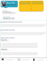 Professional Resume Free Template Professional Resume Format Microsoft Word Templates