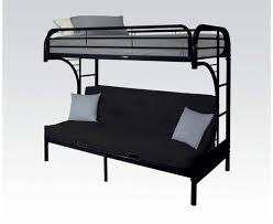 Black Metal Futon Bunk Bed Bedroom Glamorous Futon Bunk Bed The Home