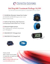 Treatment For Bed Bugs Bed Bug Heat Equipment Heat Treatments Thermal Flow Technologies