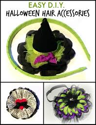 halloween headbands halloween hair accessories 3 easy crafting tutorials by the hair