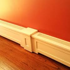 baseboard trim cost wm l 163e 916 in x 514 in x new painted