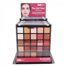 beauty sle box programs beauty treats gold eye collection palette display set