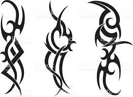 tribal tattoo designs stock vector art 165502343 istock