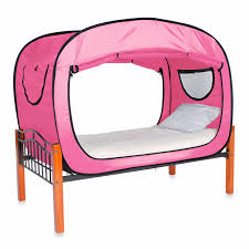 Bed Tents For Twin Size Bed by Pink Privacy Tent For Twin Size Bed Sleep Relax Changing Area