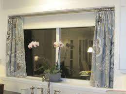 alluring short curtains for kitchen window ideas with curtains