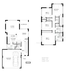 Log Home Floor Plans With Garage And Basement by Simple Home Floor Plans U2013 Laferida Com