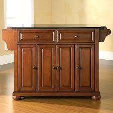 black kitchen island table w granite top drawers kitchen design