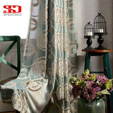 velvet jacquard luxury curtains blackout for bedroom roman blinds
