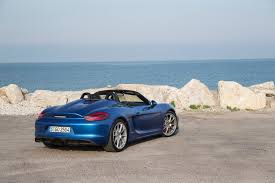 porsche boxster spyder 2015 2016 porsche boxster spyder second drive review
