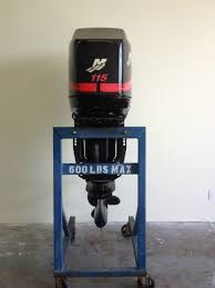 used 2001 mercury 115 hp four stroke outboard motor