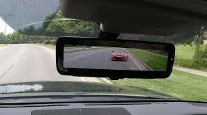 nissan armada mocha almond nissan u0027s intelligent rear view mirror doubles as lcd monitor