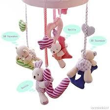 carillon da culla baby culla mobile con carillon e supporto acchiappasogni e giochi