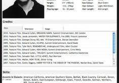 Actor Sample Resume Download Child Actor Sample Resume Haadyaooverbayresort Com