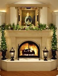 christmas ornaments fireplace decor around pinterest minimalist