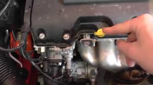 vauxhall opel corsa e dipstick engine oil level check guide youtube