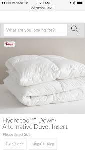 home design alternative comforter review pottery barn hydracool alternative comforter