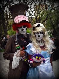 alice in wonderland halloween horror nights october 2014 san francisco bike party