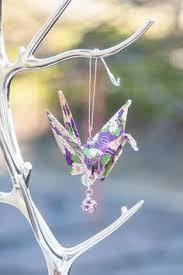 how to make a paper crane ornament japanese legends