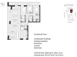 Embassy Floor Plan by 3 Bedroom Apartment For Sale In Ambassador Building Embassy