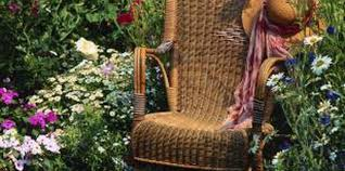 how to stain wicker or rattan furniture