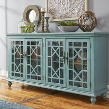 Tv Bench Sideboard Tv Cabinet Antique Blue Tv Stand Wayfair