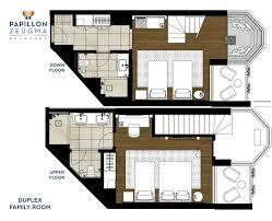 Family Room Layout Papillon Zeugma Relaxury Rooms