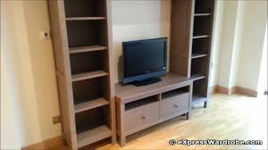 Shelving Furniture Living Room by Ikea Hemnes Bedroom Living Room Furniture Design Youtube