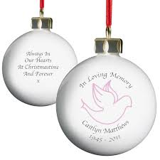 personalized in loving memory ornaments rainforest