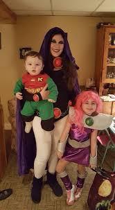 Teen Titans Halloween Costumes Teen Titans Raven Starfire U0026 Robin Cosplay Amino