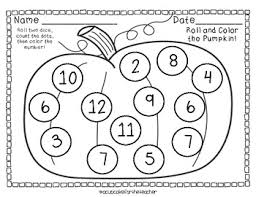 november roll color free printables cupcake teacher