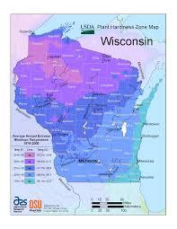 Time Zone Map South Dakota by Plant Hardiness Zones The How Do Gardener