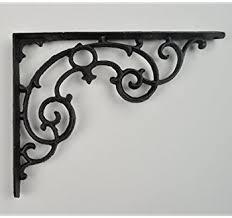 cast iron shelf bracket amazing a pair of small classic