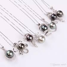 pearl pendant necklace wholesale images Wholesale aaa grade tahitian pearl pendant necklace simple jpg