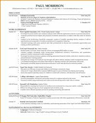 College Student Resume Sample by College Graduate Resume Templates Sample Template Student Examples
