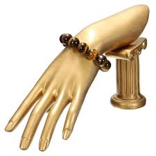 bracelet hand display images Gold mannequin hand finger model necklace jewelry glove jewelry jpg