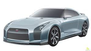 nissan sport car vector design of nissan gtr sport car free vector u0026 clipart design