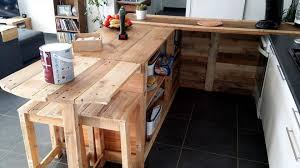 diy pallet kitchen cabinets pallet kitchen counter with breakfast table storage pallets pro