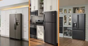 do white cabinets go with black appliances choosing between slate black stainless steel black slate