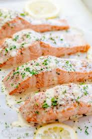 lemon beurre blanc recipe oven baked salmon with flavorful and simple lemon cream sauce lemon